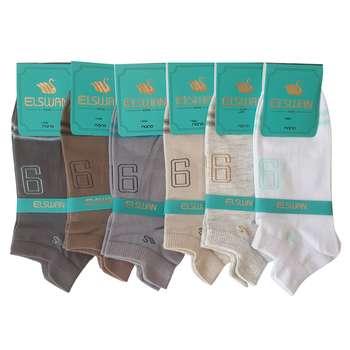 جوراب مردانه ال سون کد PH139 مجموعه 6 عددی