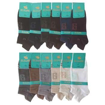 جوراب مردانه ال سون کد PH140 مجموعه 12 عددی