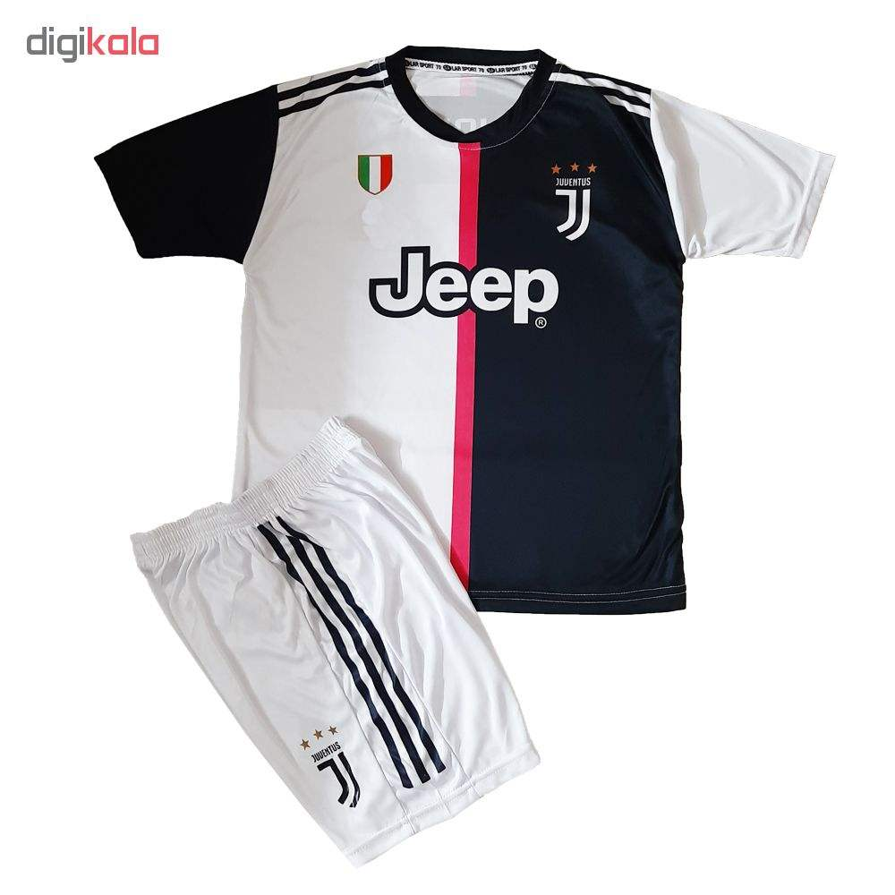 ست لباس ورزشی پسرانه طرح یوونتوس کد J R 7 main 1 3