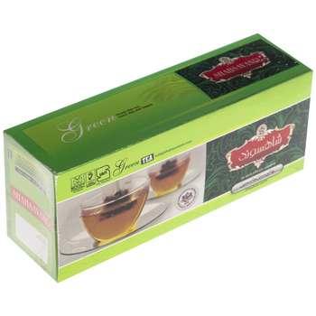 دمنوش چای سبز جاسمین شاهسوند بسته 25 عددی