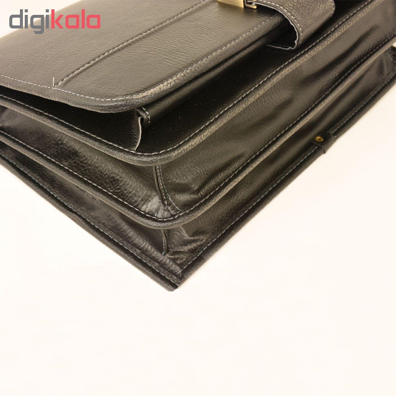 کیف اداری مردانه پارینه مدل P246