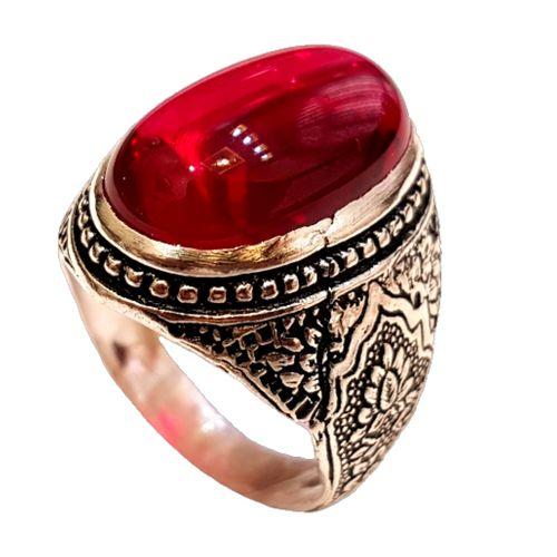 انگشتر نقره مردانه کد p0996