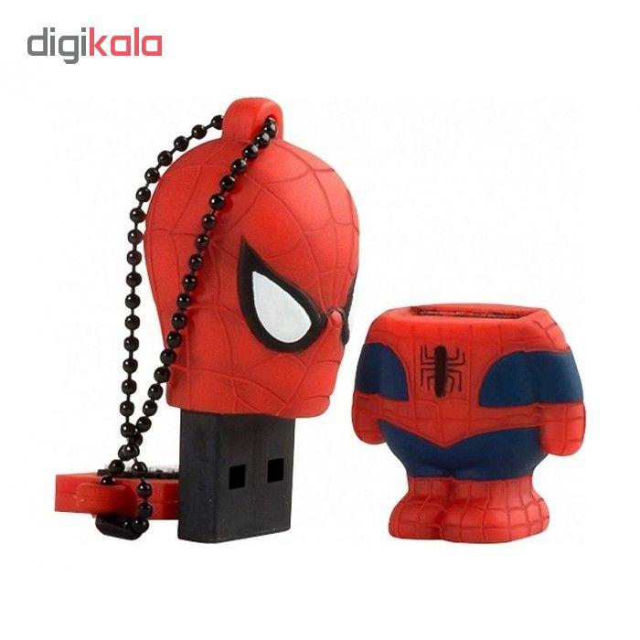 فلش مموری ترایب طرح Spider Man کد 01 ظرفیت 16گیگابایت