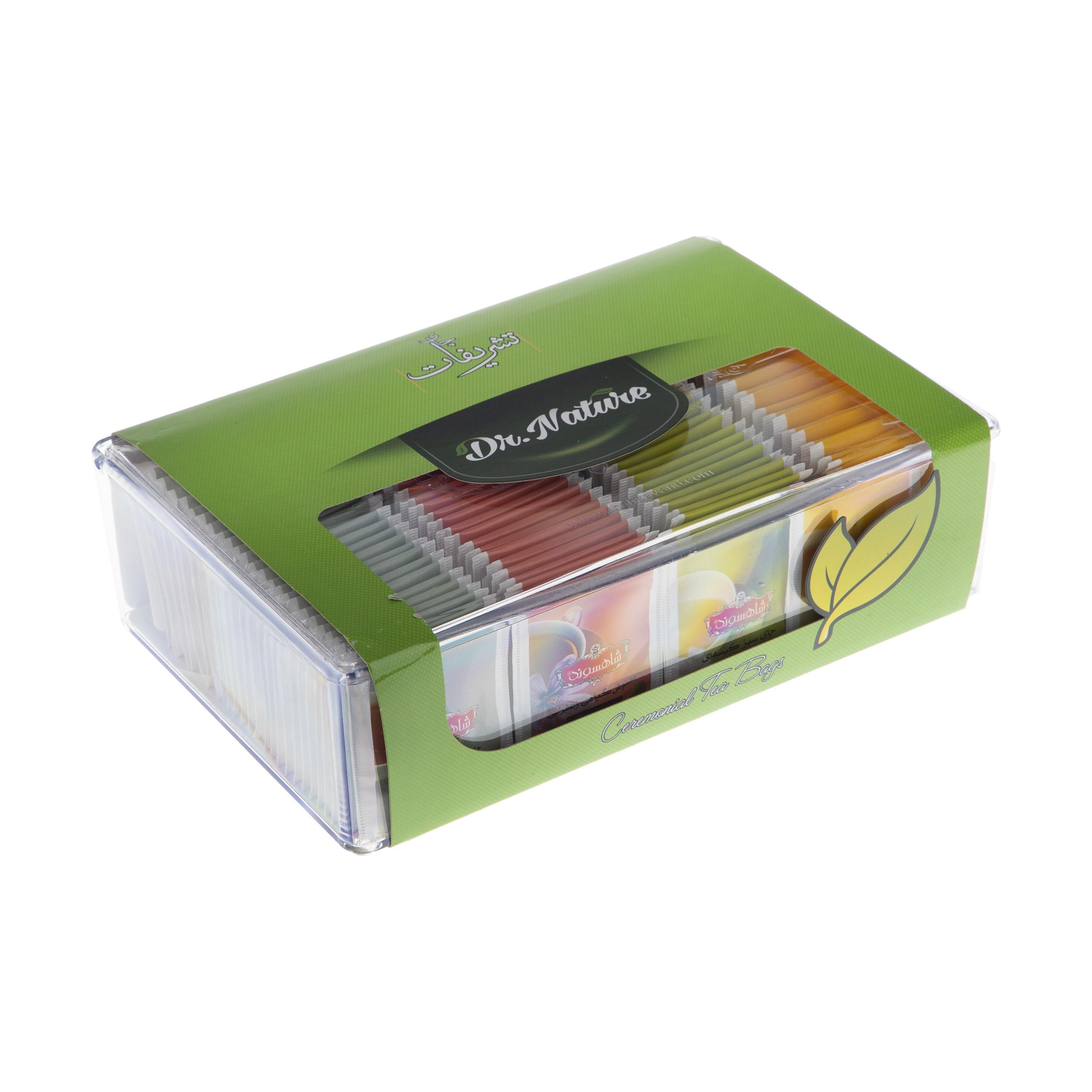 چای کیسه ای تشریفات بسته 100 عددی