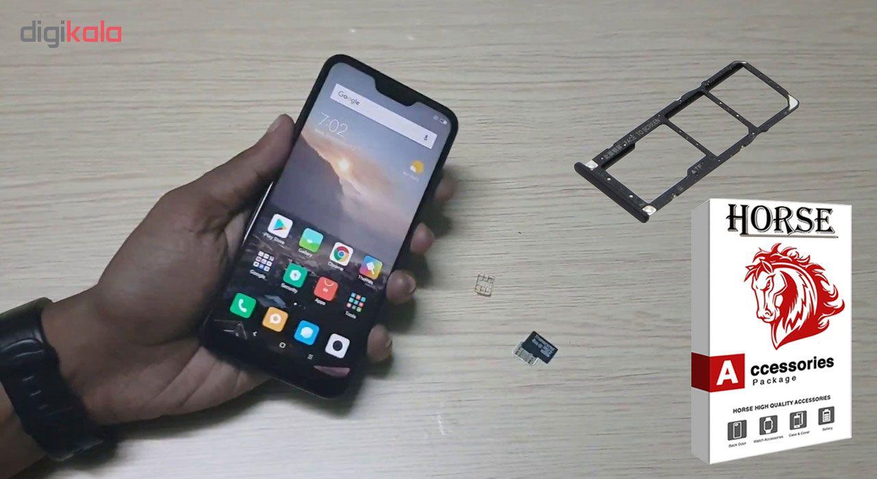 خشاب سیم کارت هورس مدل SCH مناسب برای گوشی موبایل شیائومی Mi A2 Lite main 1 3