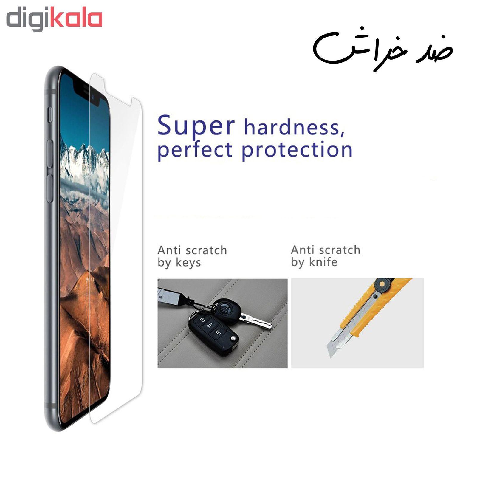 محافظ صفحه نمایش و پشت گوشی Hard and Thick مدل F-01 مناسب برای گوشی موبایل اپل Iphone X/Xs به همراه محافظ لنز دوربین main 1 8