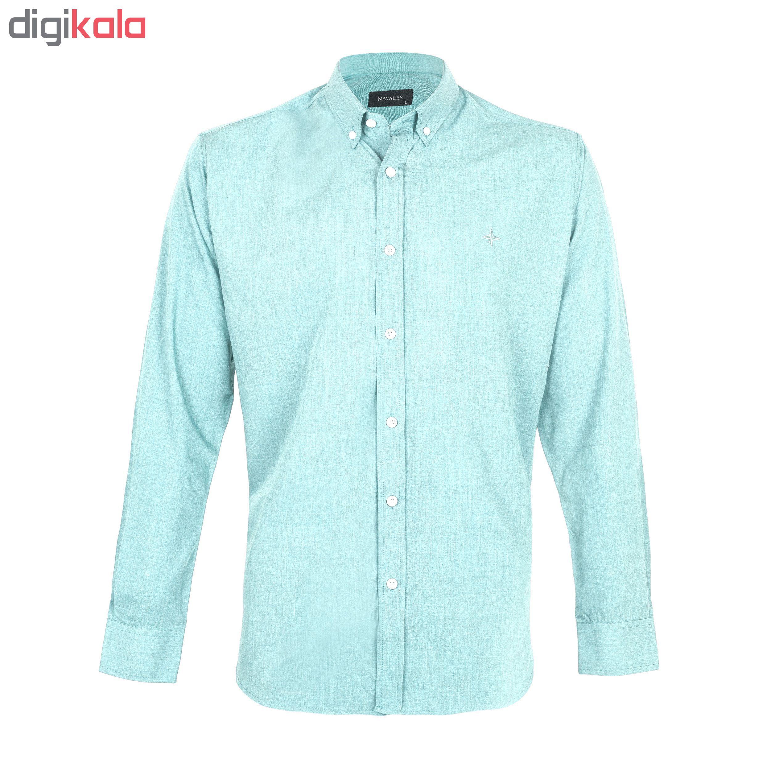 پیراهن مردانه ناوالس مدل sh2019_lgn