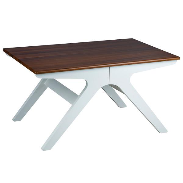 میز جلو مبلی چشمه نور کد D-127/BR-WT