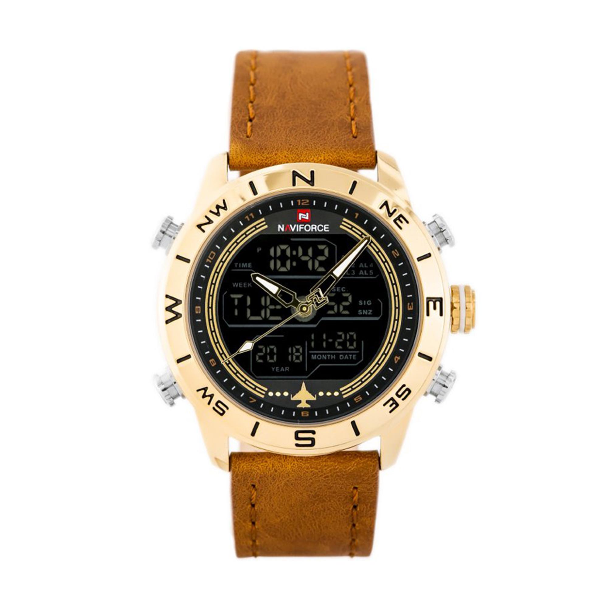 کد تخفیف                                      ساعت مچی دیجیتال مردانه نیوی فورس مدل NF9144-GGLBN