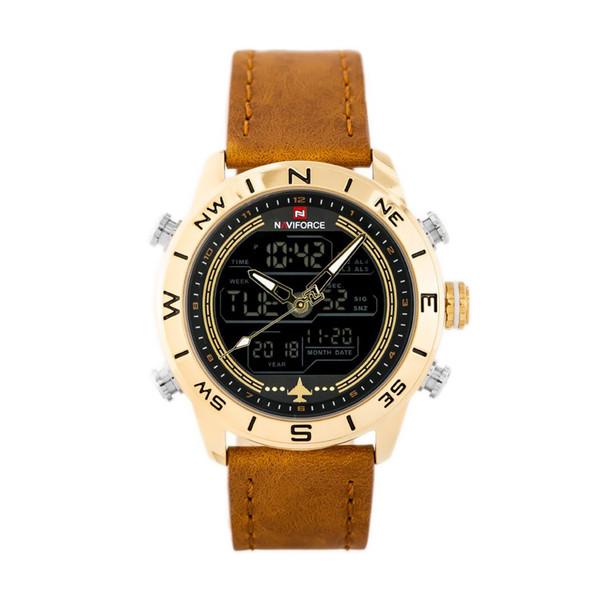 ساعت مچی دیجیتال مردانه نیوی فورس مدل NF9144-GGLBN