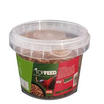 غذای خشک میل ورم تاپ فید کد 040 وزن 40 گرم