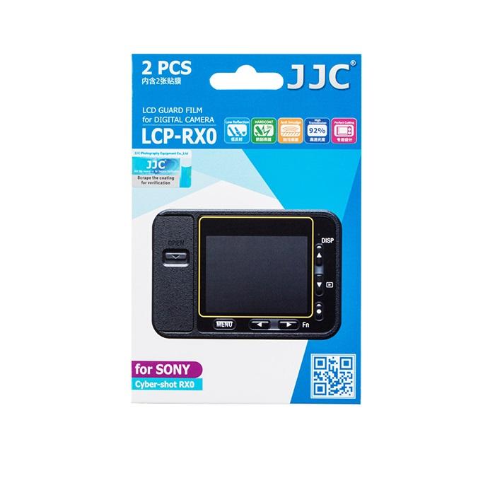 بررسی و {خرید با تخفیف} محافظ صفحه نمایش دوربین جی جی سی مدل LCP-RX0 مناسب برای دوربین سونی Cyber-shot RX0 بسته 2 عددی اصل