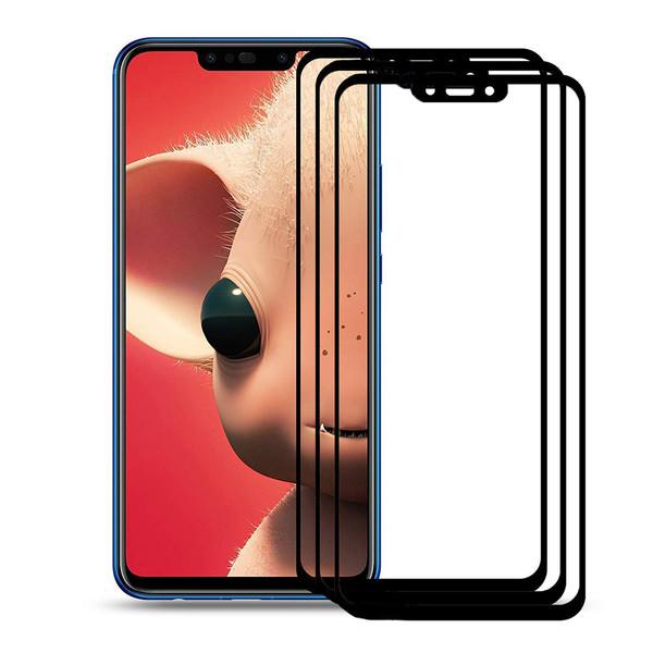 محافظ صفحه نمایش نیکسو مدل FG مناسب برای گوشی موبایل هوآوی Nova 3i بسته سه عددی