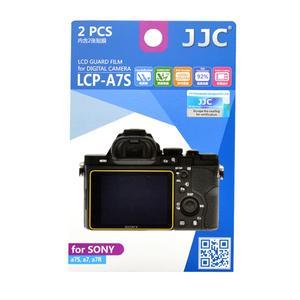 محافظ صفحه نمایش دوربین جی جی سی مدل LCP-A7S مناسب برای دوربین سونی A7 بسته 2 عددی