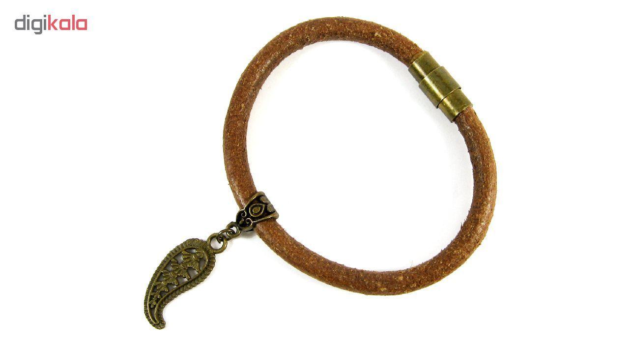 دستبند مردانه مانچو مدل bl4043 -  - 2