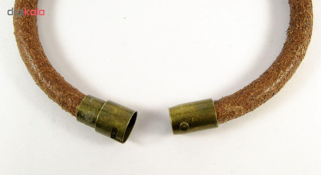 دستبند مردانه مانچو مدل bl4043 -  - 3