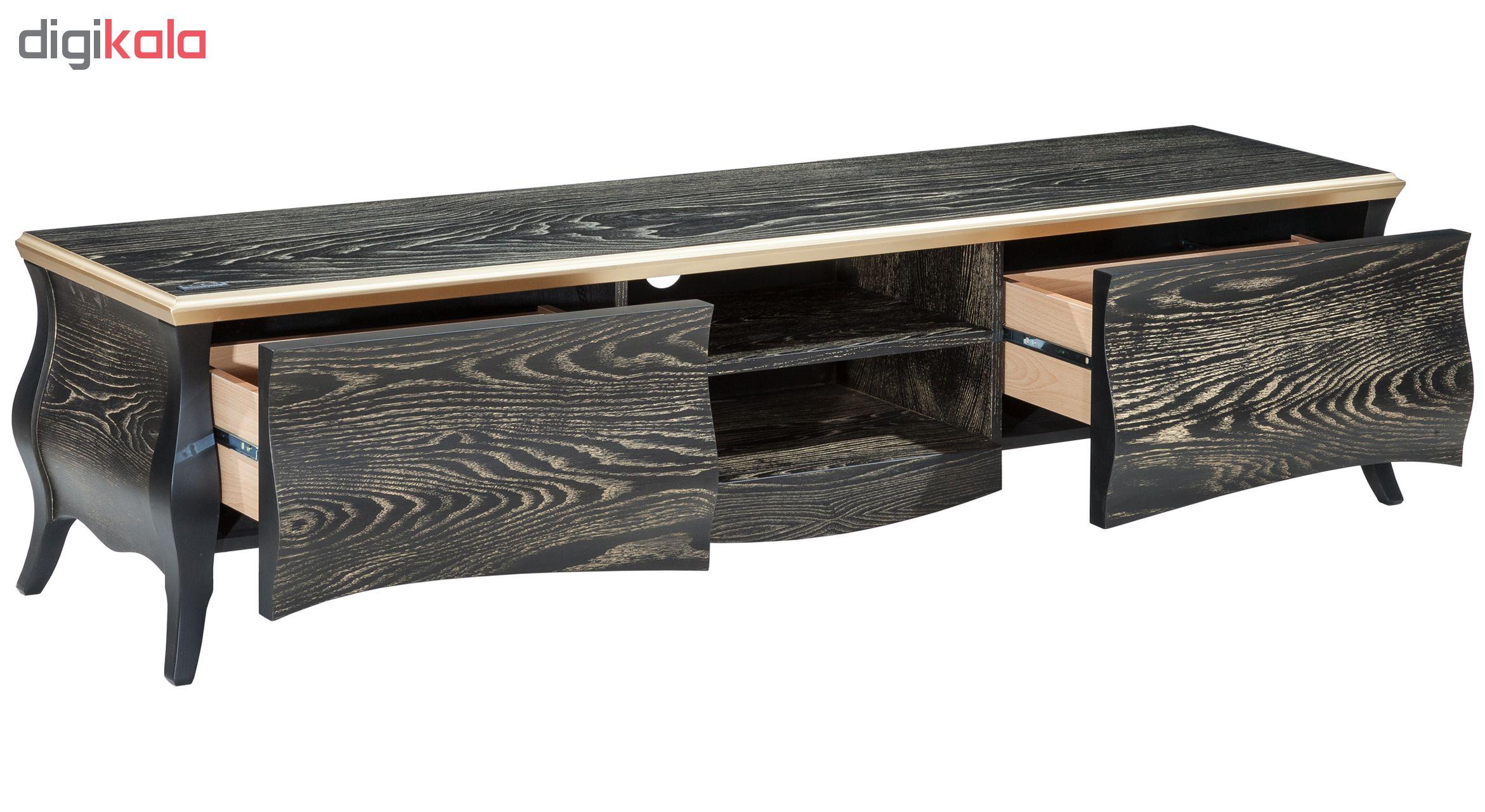 خرید اینترنتی میز تلویزیون آیلکس مدل R16- BG-180 اورجینال