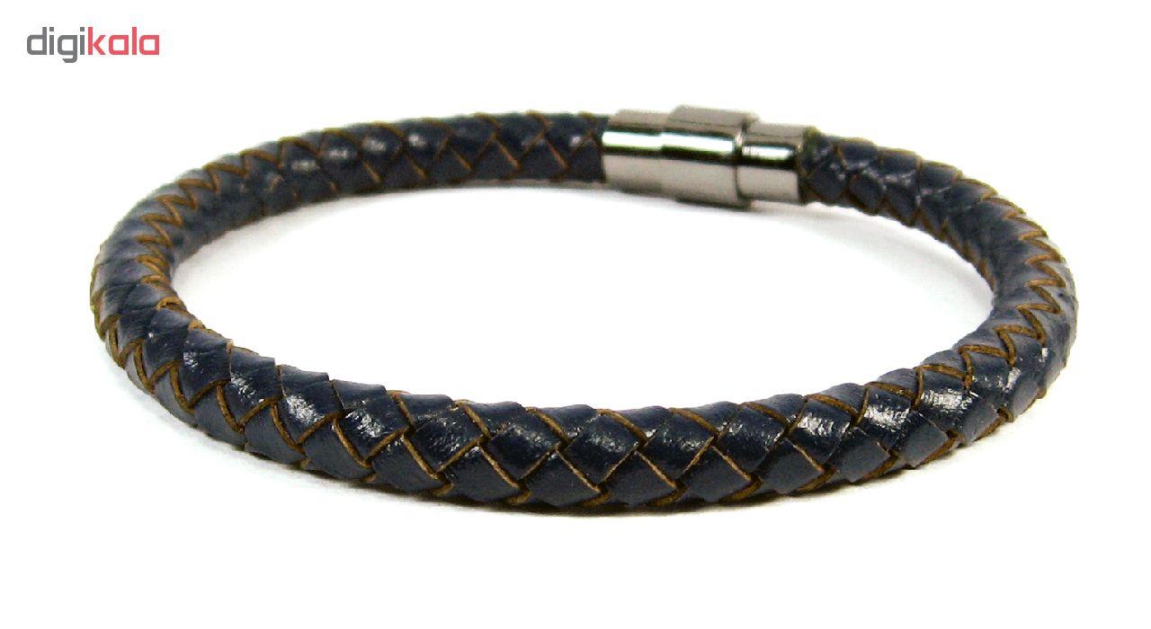 دستبند مردانه مانچو مدل bl4044