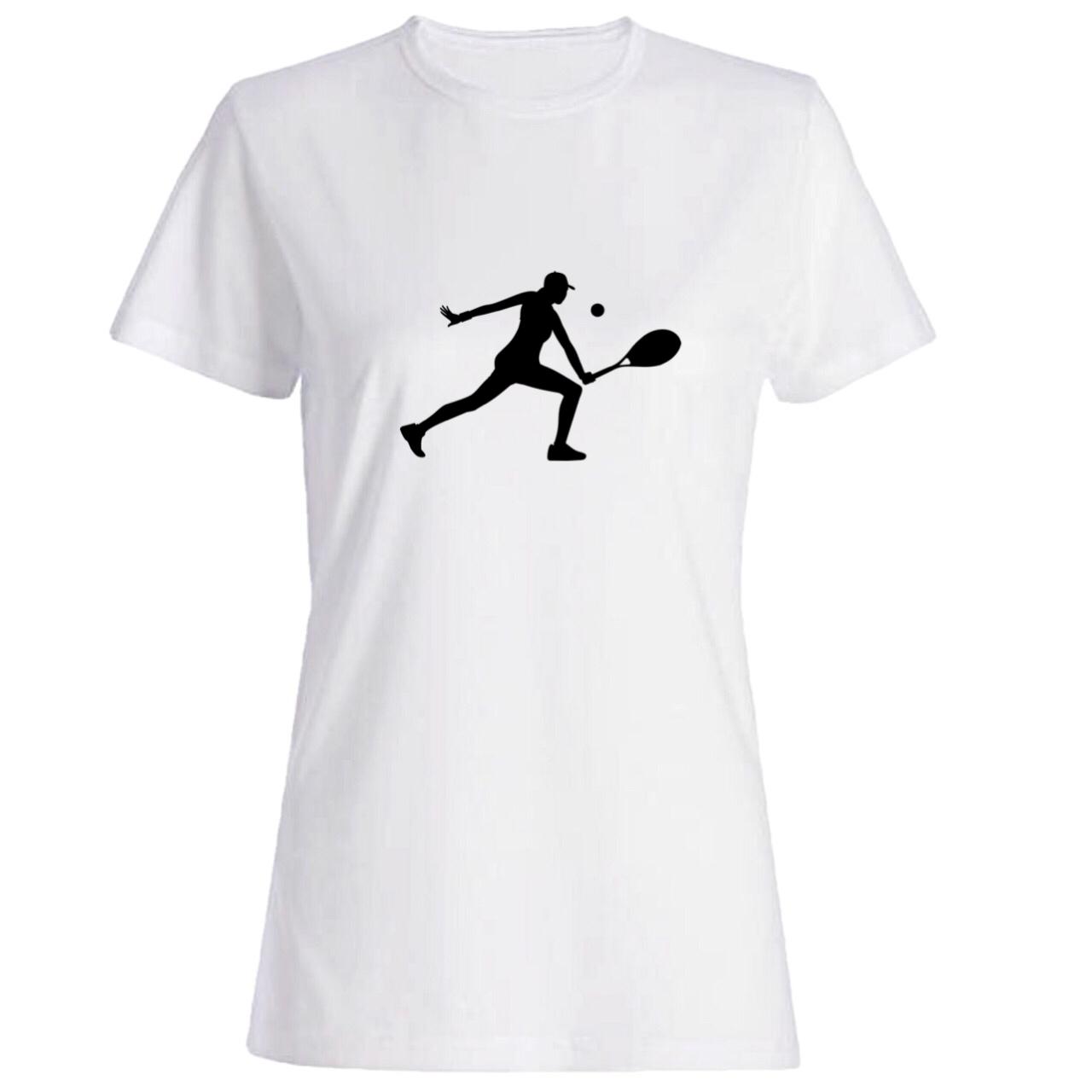 تیشرت زنانه طرح تنیس کد 5352