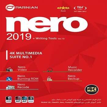 نرم افزار Nero نسخه Writing Tools + 2019 نشر پرنیان