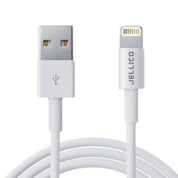 کابل تبدیل USB به لایتنینگ جلیکو  مدل NY-10 بطول 2 متر