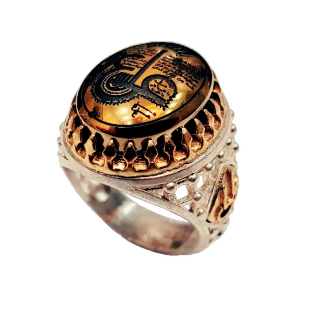 انگشتر نقره مردانه کد p303