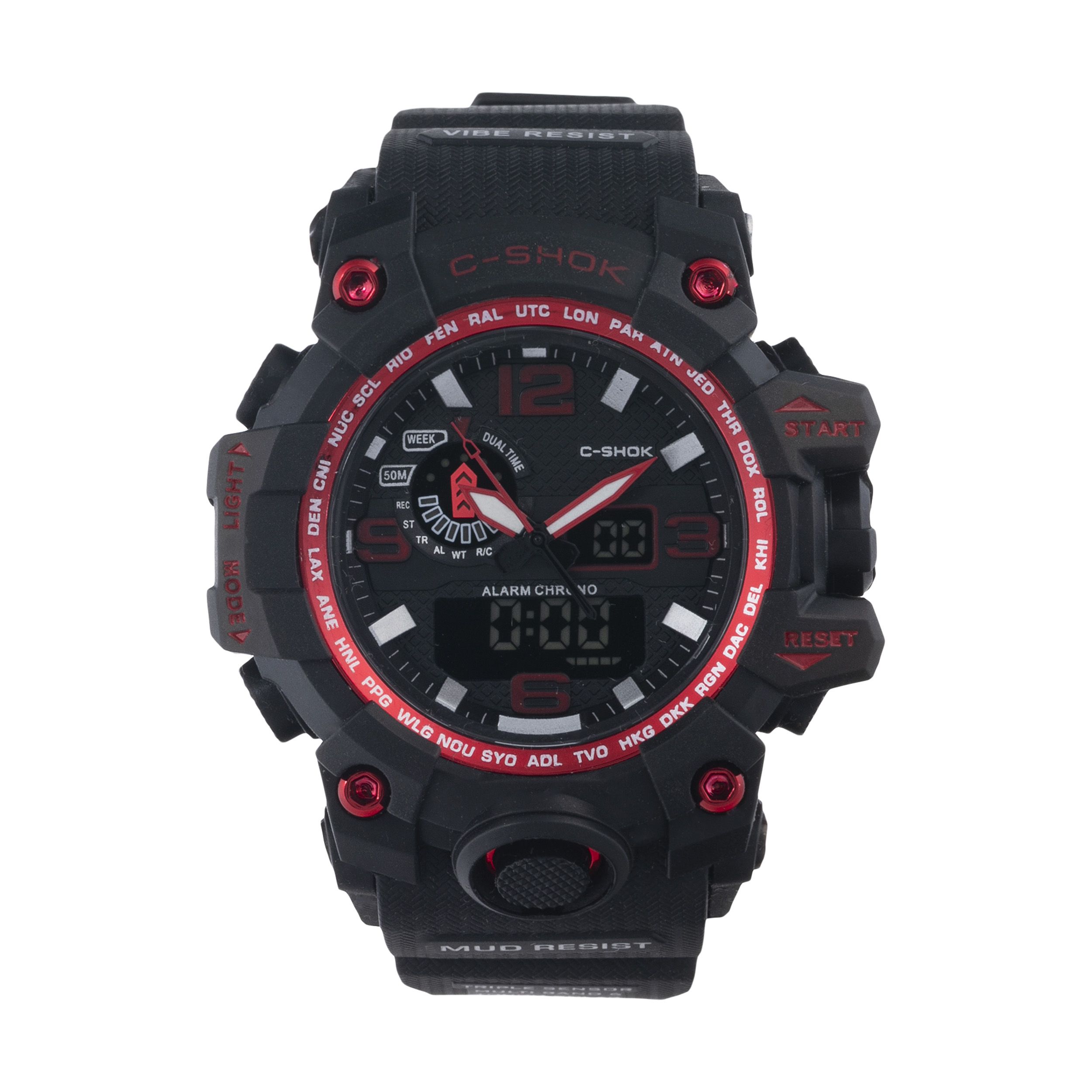 ساعت مچی عقربه ای مردانه سی شاک مدل C-SHOK Br02