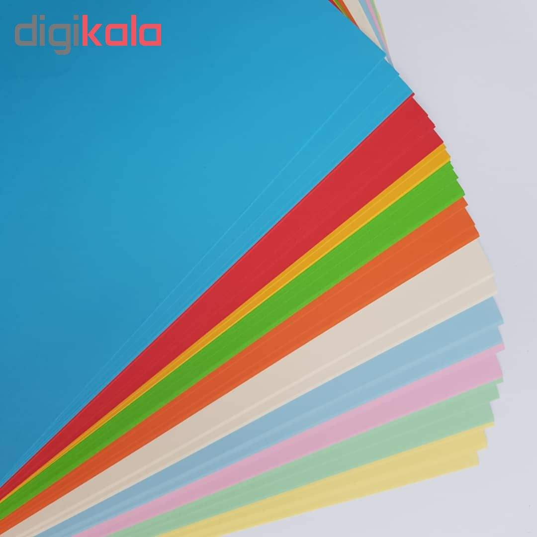 کاغذ رنگی A4 مدل کالرفول کد S10 بسته ۱۰۰ عددی main 1 1