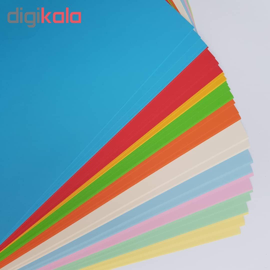 کاغذ رنگی A4 مدل کالرفول کد S10 بسته ۱۰۰ عددی main 1 2