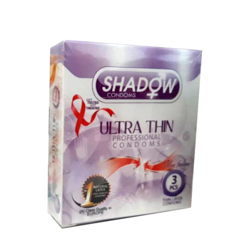 کاندوم شادو مدل ULTRA THIN بسته 3 عددی
