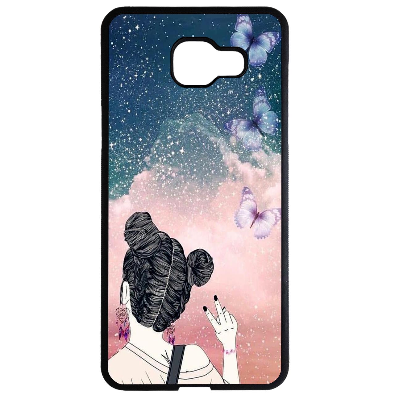 کاور طرح دخترانه کد 1105408922 مناسب برای گوشی موبایل سامسونگ galaxy a5 2016