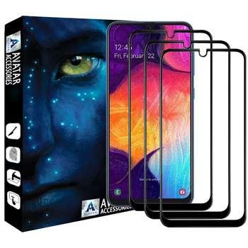 محافظ صفحه نمایش آواتار مدل SA10-3 مناسب برای گوشی موبایل سامسونگ Galaxy A10 بسته سه عددی