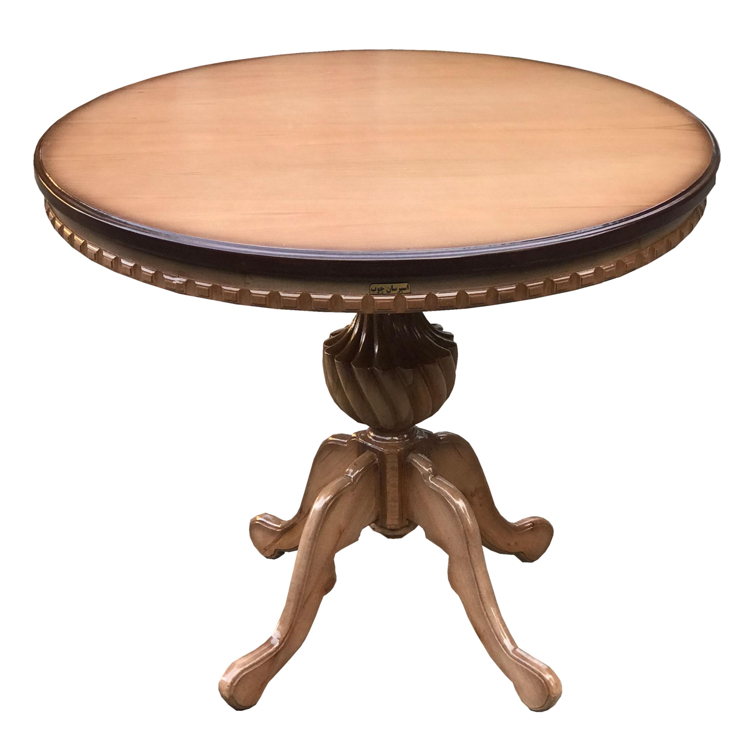 میز ناهارخوری اسپرسان چوب کد MI10