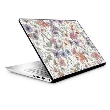 استیکر لپ تاپ طرح گل مدل TIE076 مناسب برای لپ تاپ 15.6 اینچ