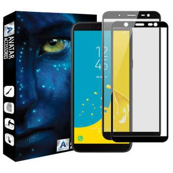 محافظ صفحه نمایش آواتار مدل SJ6P-2 مناسب برای گوشی موبایل سامسونگ Galaxy J6 plus بسته دو عددی