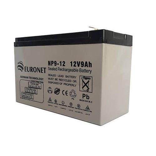 باتری یو پی اس 12 ولت 9 آمپر ساعت یورونت مدل NP9-12