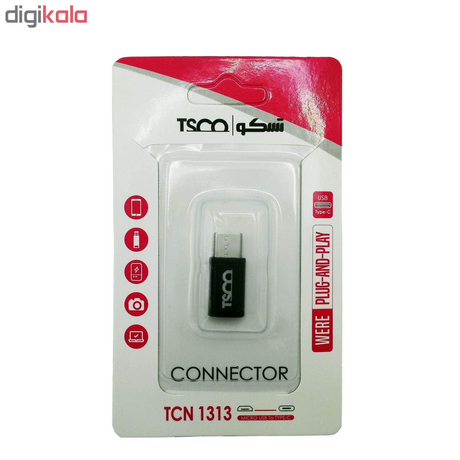 مبدل MicroUSB به USB-C تسکو مدل TCN 1313 main 1 2