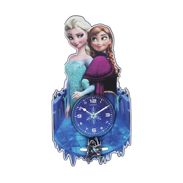 ساعت دیواری اتاق کودک لوتوس کدFR-003-FROZEN