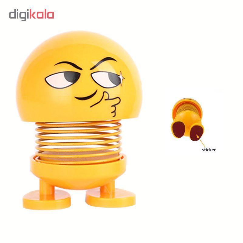 عروسک فنری طرح ایموجی کد 04 main 1 1