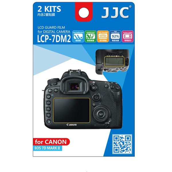 محافظ صفحه نمایش دوربین جی جی سی مدل LCP-7DM2 مناسب برای دوربین کانن 7D II مجموعه 4 عددی