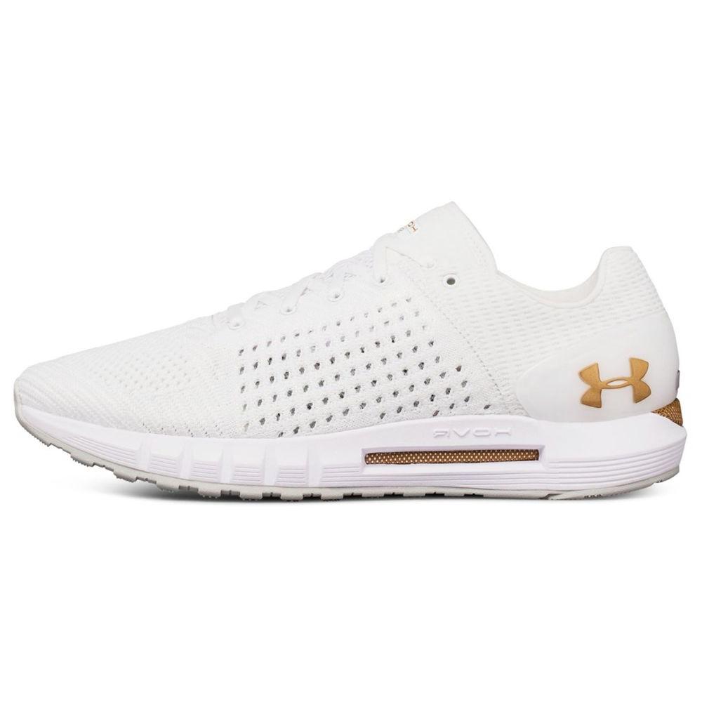 قیمت کفش مخصوص پیاده روی مردانه آندر آرمور مدل  HOVR Sonic White Gold