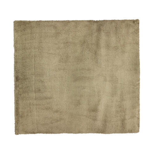 فرش ماشینی طرح شگی کد SH01 زمینه نسکافه ای