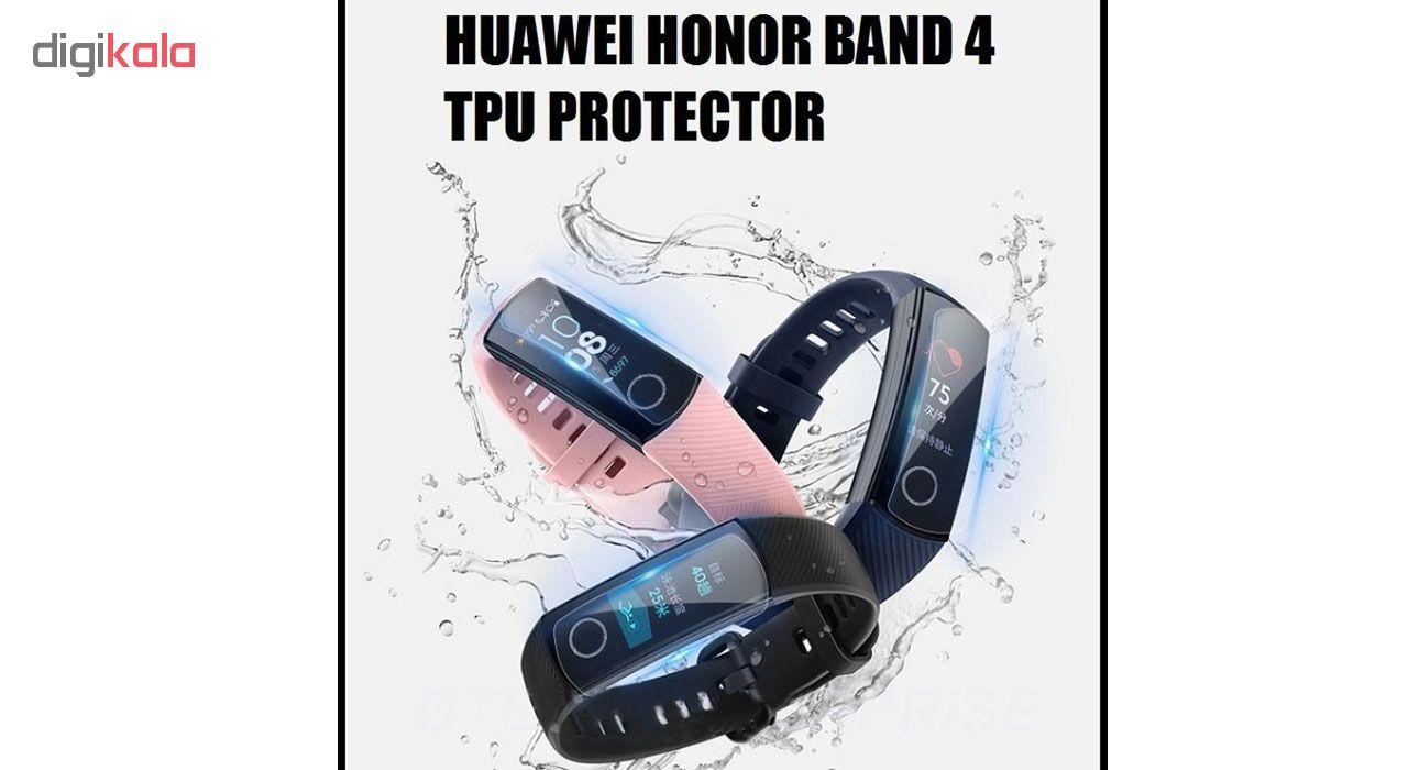 محافظ صفحه نمایش هورس مدل FSN مناسب برای  مچ بند هوشمند آنر Band 4 بسته 3 عددی