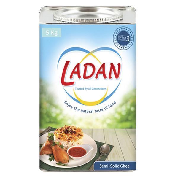 روغن جامد لادن - 5  کیلوگرم