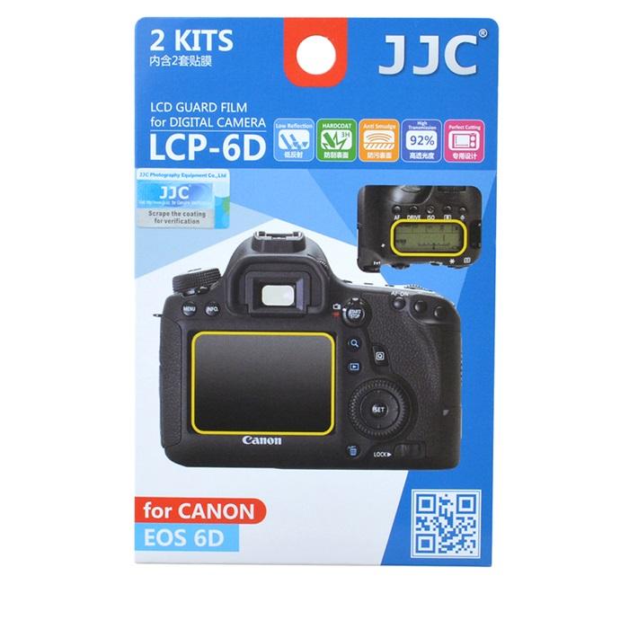 بررسی و {خرید با تخفیف} محافظ صفحه نمایش دوربین جی جی سی مدل LCP-6D مناسب برای دوربین کانن EOS 6D مجموعه 4 عددی اصل