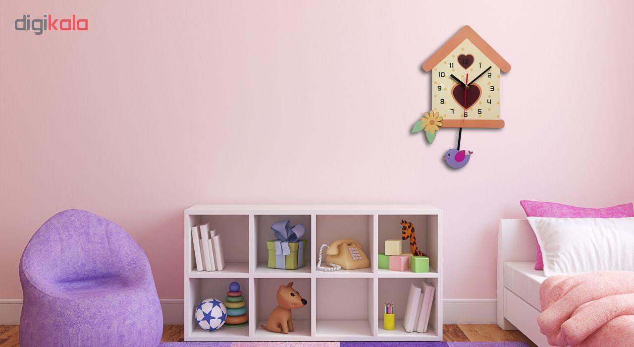 ساعت دیواری ژیوار مدل bird's nest main 1 1