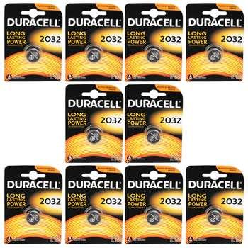 باتری سکه ای دوراسل کد 2032 بسته 10 عددی