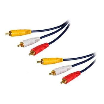 کابل 3 به 3 RCA کد 116 طول 1.5 متر