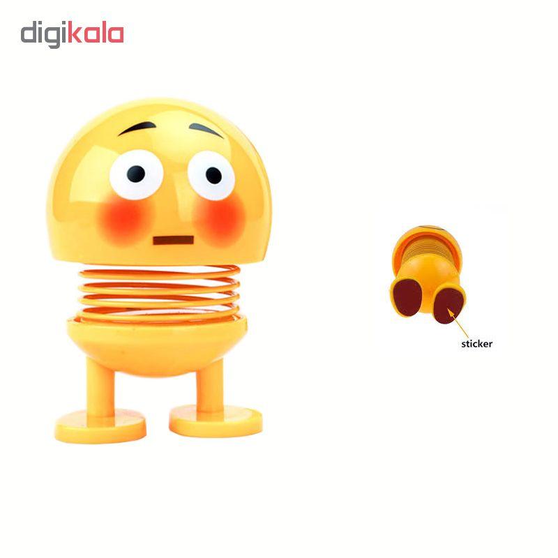 خرید عروسک فنری طرح ایموجی کد 10