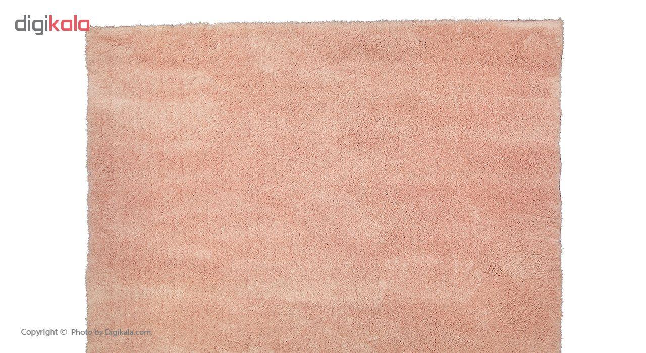 فرش ماشینی طرح شگی کد SH04 زمینه صورتی